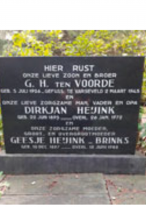 VOORDE, G.H., ten